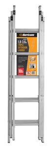Hurricane 1.8 - 3.6m Aluminium Triple Extension Ladder