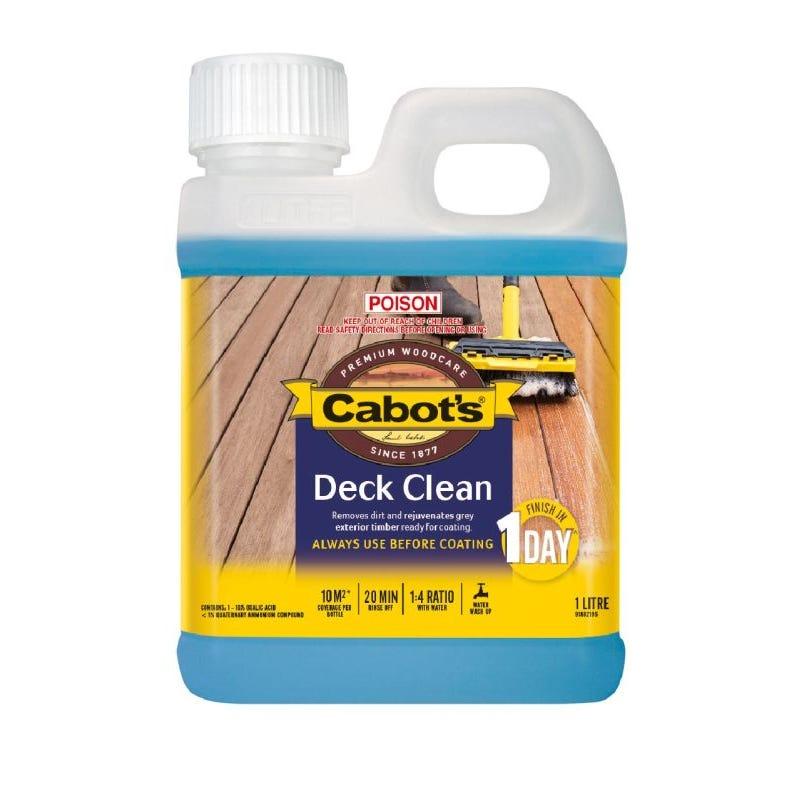 Cabot's Deck Clean