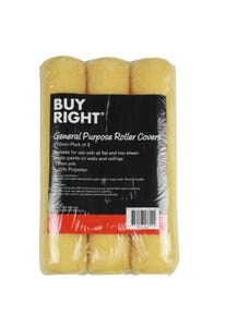 Buy Right® 270mm Roller Covers Pack of 3
