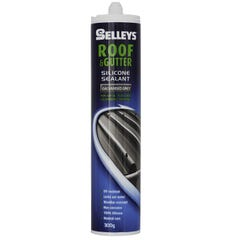 Selleys Roof & Gutter Silicone Sealant Galvanised Grey