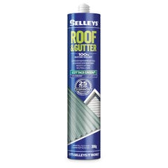 Selleys 300g Roof & Gutter Silicone Sealant Cottage Green