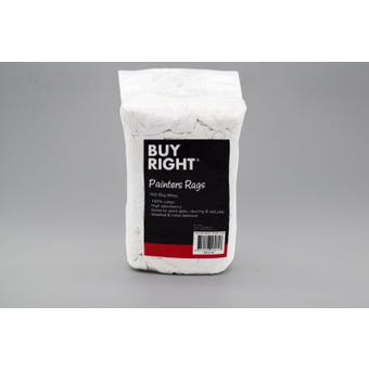 Buy Right® Painters Rags White 1kg
