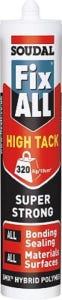 Soudal Fix ALL High Tack Sealant Black 290ml