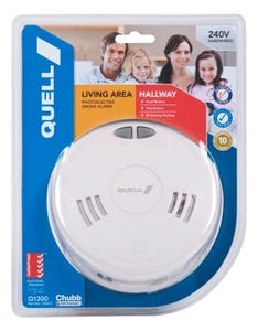 Quell 240V Photoelectric Smoke Alarm