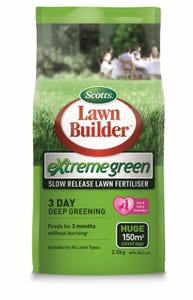 Scotts Lawn Builder Extreme Green Fertiliser 2.5kg