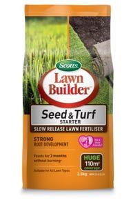 Lawn Builder Seed and Turf Starter Fertiliser 2.5kg