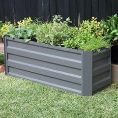 Raised Garden Bed 1200mm x 450mm x 450mm Slate