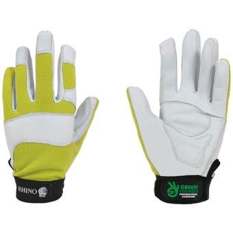 Rhino Premium Ladies Gardening Gloves - Green