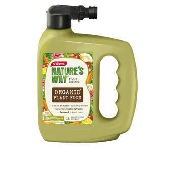 Yates Nature's Way Organic Hose On Fertiliser 1L