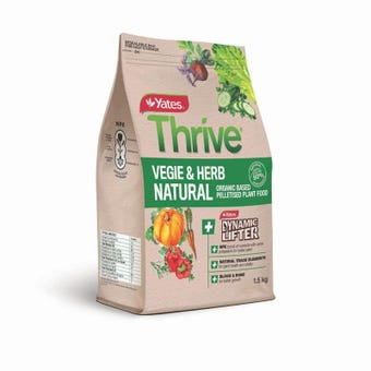 Yates Thrive Fertiliser 1.5kg Vegetable & Herb