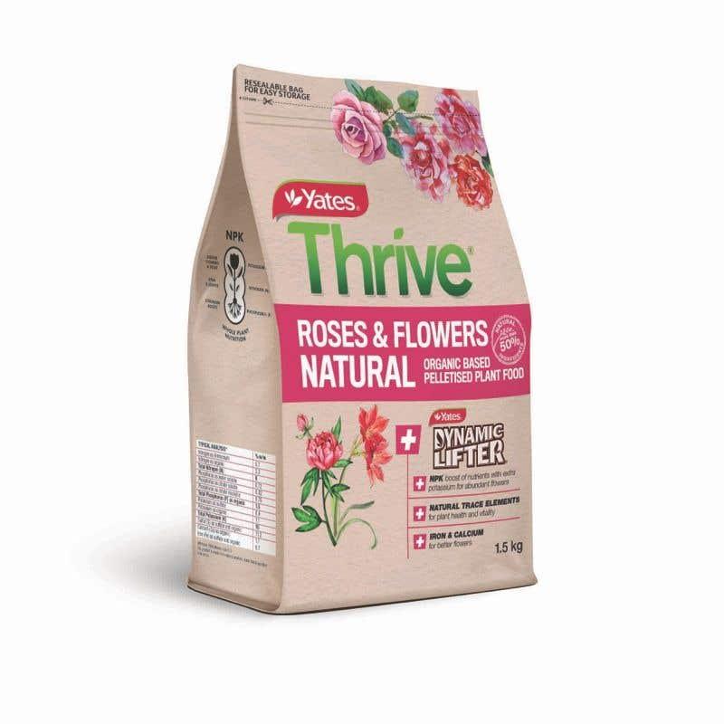 Yates Thrive Fertiliser 1.5kg Rose Flower