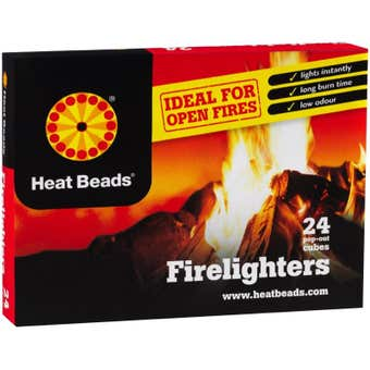 Heat Bead Firelighters Pack of 24