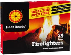 Heat Bead Firelighters Pack of 24