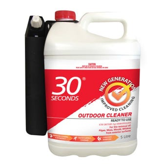 Cleaner Outdoor Concentrate RTU 5L 30 Seconds