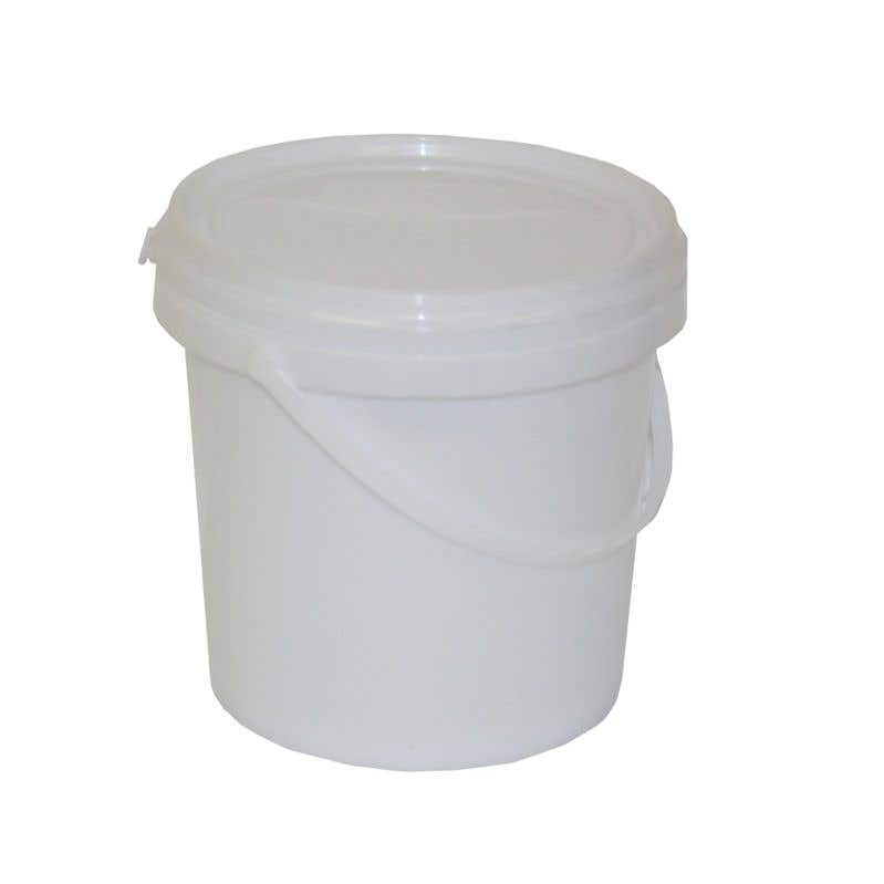 Queen Plastic Pail With Lid 3L