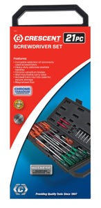 Crescent 21 Piece Screwdriver Set