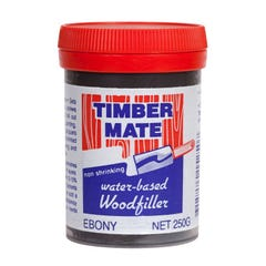 Timber Mate Woodfiller 250g Ebony