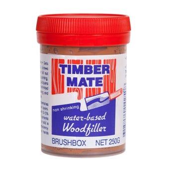 Timber Mate Woodfiller 250g Brushbox