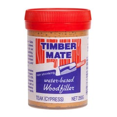 Timber Mate Woodfiller 250g Teak