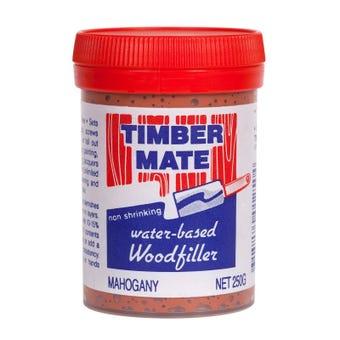 Timber Mate Woodfiller 250g Mahogony