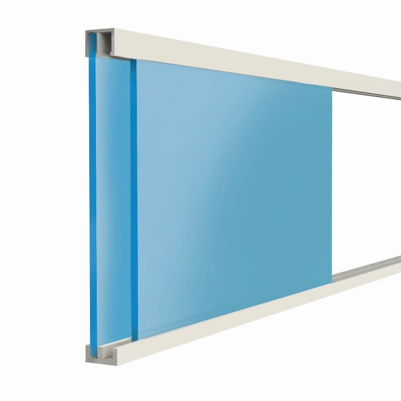 Cowdroy Plastic Sliding Door Track 1800mm