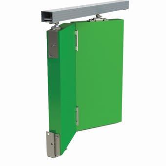 Cowdroy 1220mm Triumph Folding Door Track System