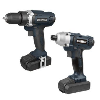 Rockwell 18V Two Piece Kit