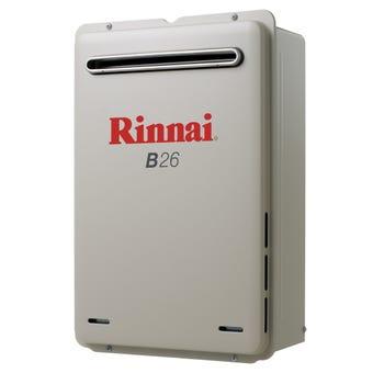 Rinnai Continuous Hot Water System Preset 50C NG B26