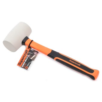 Supercraft White Rubber Mallet