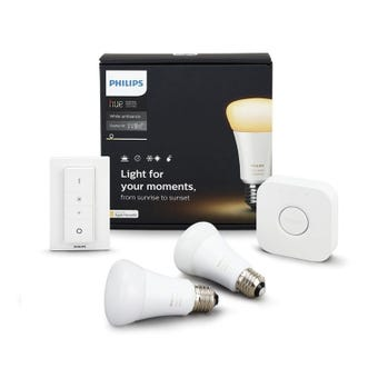 Philips Hue White Ambiance Starter Kit with Dimmer