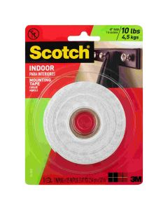 Scotch Indoor Mounting Tape 25mm x 3.2m