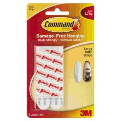Command Picture Mounting Strip Large Pack of 6