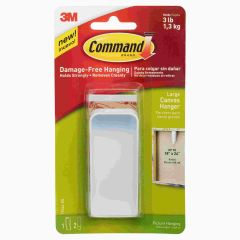 Command Canvas Hanger Hook Large Pack of 1