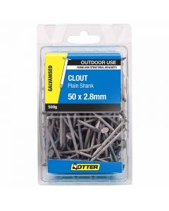 Otter Nail Clout Galvanised 50x2.80mm (500G)