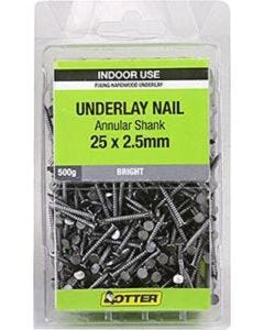 Otter Nail Underlay Annular 25x2.50mm (500G)