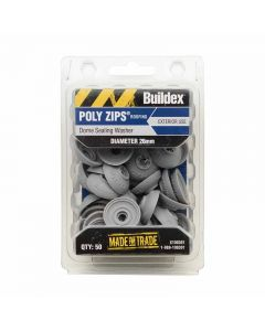 Buildex Dome Sealing Washer 26mm Diameter (50 Pack)