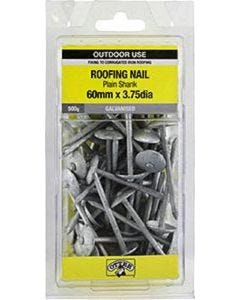 Otter Nail Roof Plain Galvanised 60x3.75mm (500G)