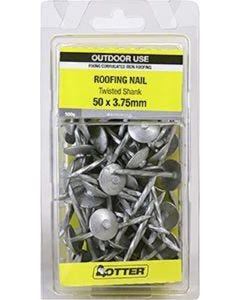 Otter Nail Roof Twist Galvanised 50x3.75mm (500G)