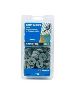 Zenith Dome Washer EPDM 22mm Diameter (50 Pack)