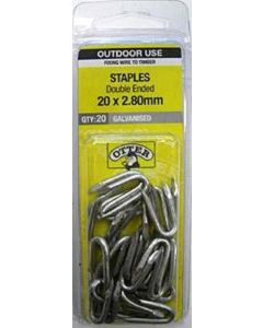 Otter Staple Galvanised 20x2.80mm (20 Pack)
