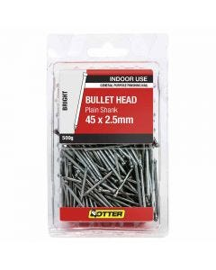 Otter Nail Bullet head Bright Steel 45x2.50mm (500G)
