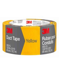 3M Cloth Duct Tape Yellow 48mm x 18.2m