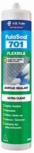 HB Fuller Fulaseal™ 701 Flexible Acrylic Sealant Ultra Clear 300g