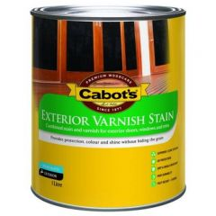 Cabot's Exterior Varnish Stain Maple 1L