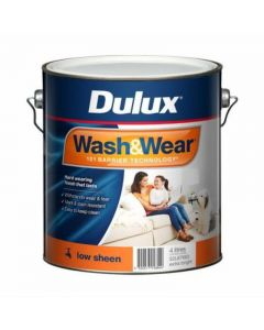 Dulux Wash & Wear Low Sheen Extra Bright 4L