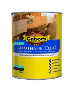Cabot's Cabothane Clear Water Based Matt 1L