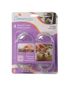 Dreambaby Stock & Oven Knob Covers Pk4