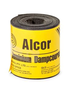 Alcor DPC Bitumen Coated Aluminium 110mm x 10m