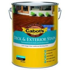 Cabot's Deck & Exterior Stain Water Based 10L Jarrah
