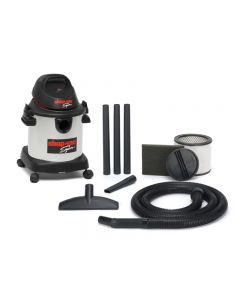 SHOP VAC SUPER20L 1400W S/S WET/DRY VACUUM
